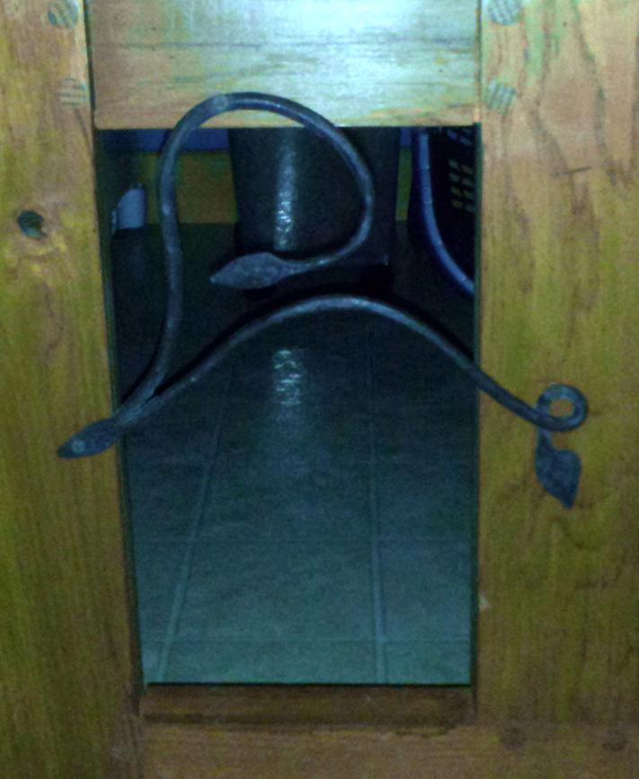 Cat Door Accent Piece, Steel, Brad Greenwood Designs