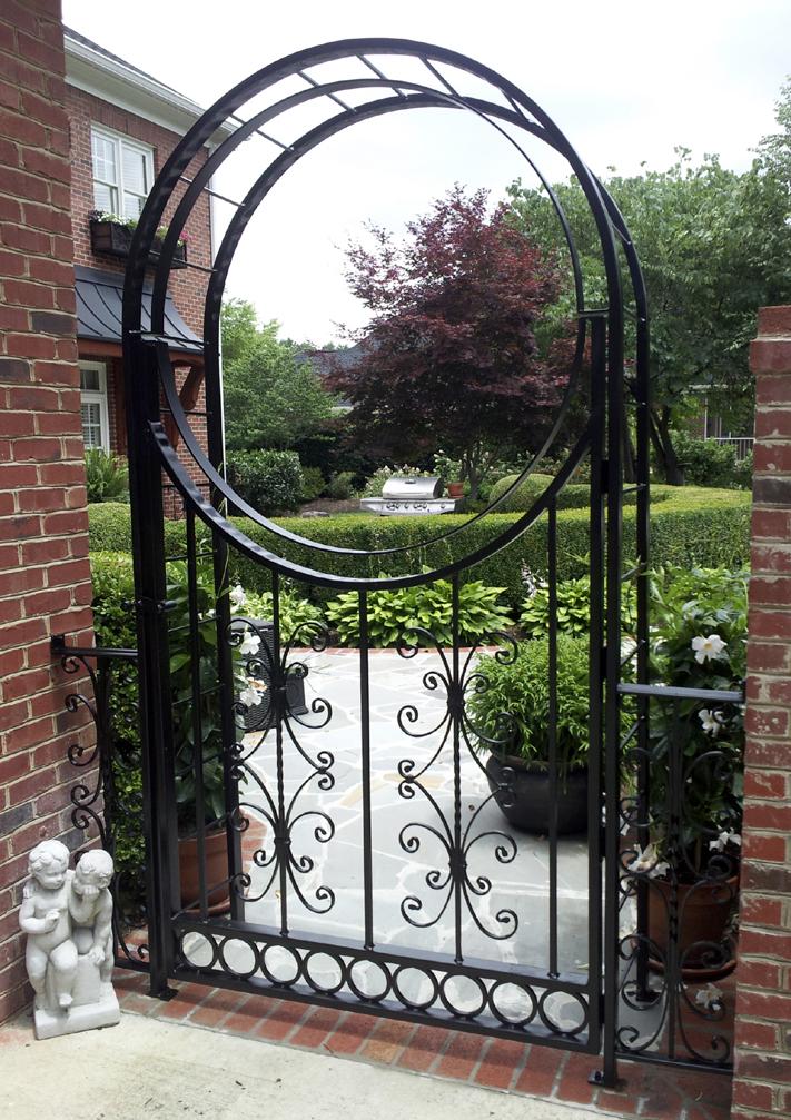 Custom Walk Gate