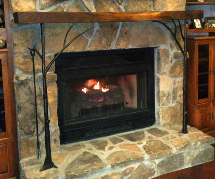 Fireplace Mantle Brackets, Brad Greenwood Designs