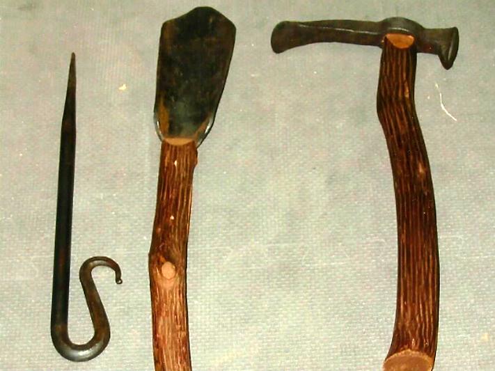 Garden Tools, Repurposed Materials, Brad Greenwood Designs