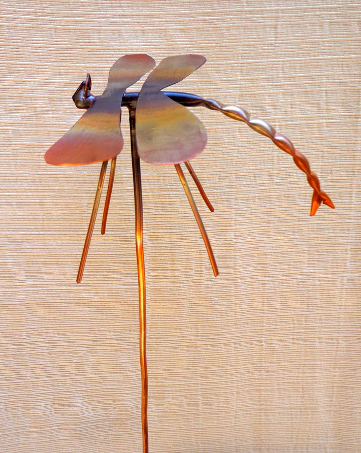 Small Dragonfly, Copper, Brad Greenwood Designs
