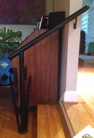 Cattail Handrail:BradGreenwoodDesigns.com